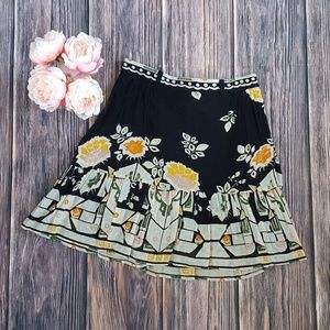 French Connection, Floral Skirt, Multi, 10